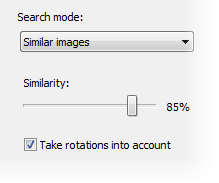 Take rotations into account option