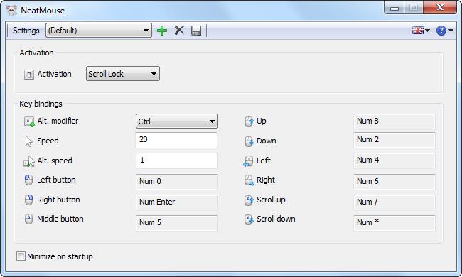 NeatMouse screenshot