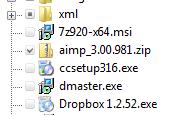 Updated Detwinner Folder tree